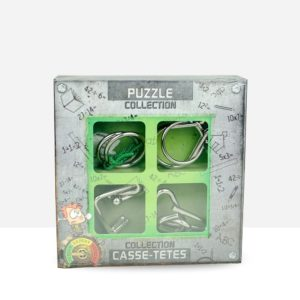 Puzzle de ingenio de metal - Collection Junior Metal