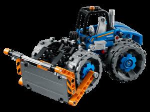Lego Buldócer compactador